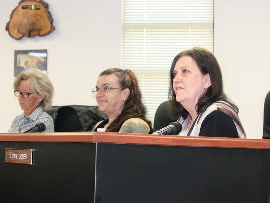Otero County Commissioners discussed designating White