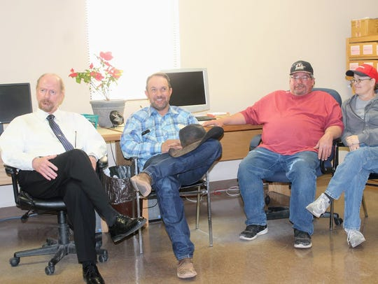 Otero County 2018 Primary Election candidates sit at