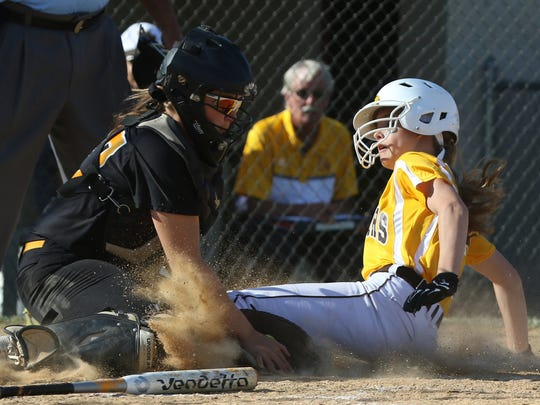 Piscataway vs. Watchung Hills softball in the North 2 Group IV sectional final in Warren on June 2, 2016.