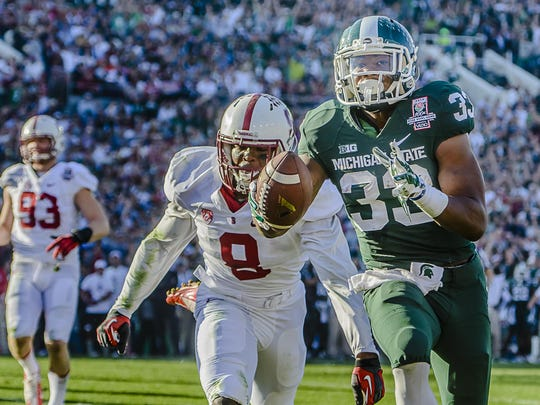 Jeremy Langford and Michigan State's 2013 football team took fans on one of the great rides in Spartan history.