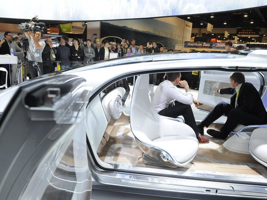 At the 2015 Consumer Electronics Show, Mercedes-Benz