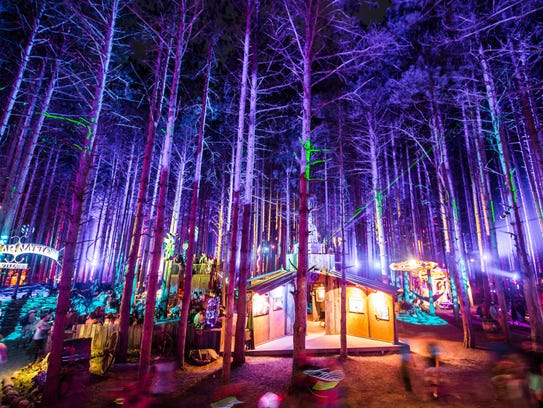Sherwood Forest at the Electric Forest festival.
