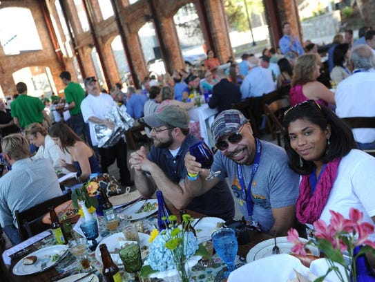 The Sunday Supper is back at Euphoria this year, along