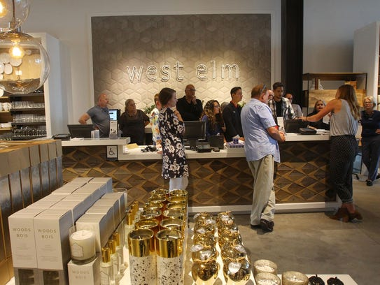 West Elm  is the first completed store part of the
