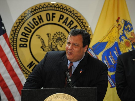 Governor Christie visited Paramus in 2011.