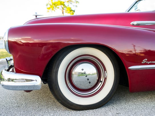 1948 Buick Super convertible owned by Tristan Leslie
