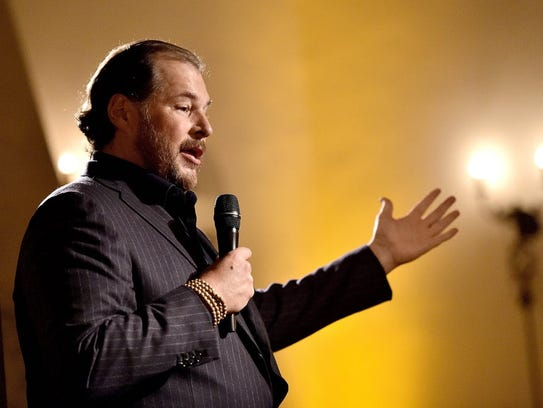 Onetime Oracle sales king Marc Benioff started Salesforce
