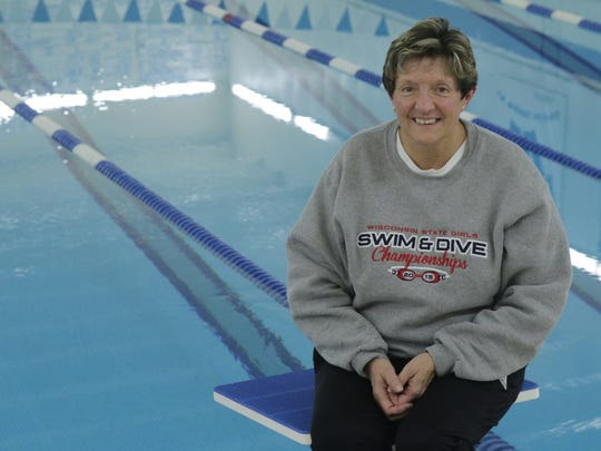 Carrie Bores recently retired after 34 years as a swimming coach at Oshkosh West High School.