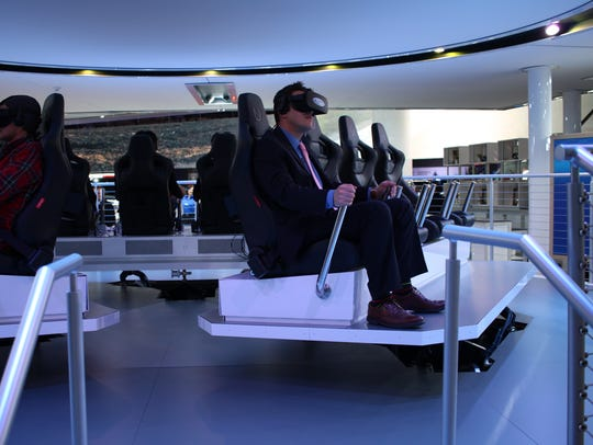 The Ford Future Mobility VR Experience takes participants