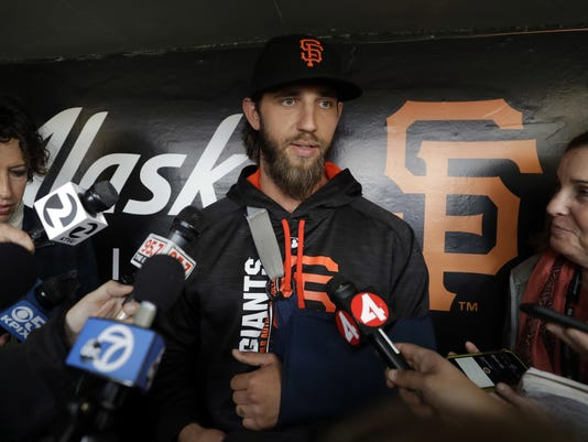 AP GIANTS BUMGARNER BASEBALL S BBN USA CA