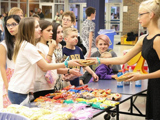 Whitnall Middle School Carnival for dysautonomia concessions