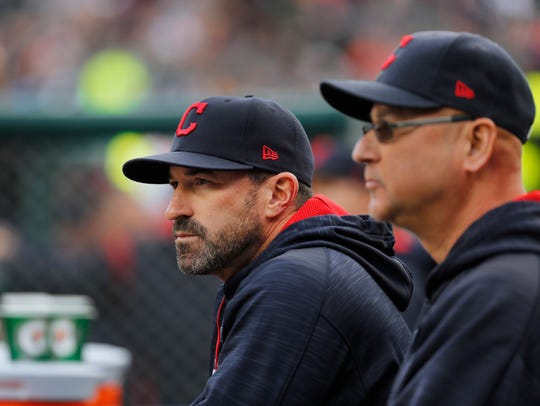 Mickey Callaway's last job was serving as the Cleveland Indians' pitching coach.