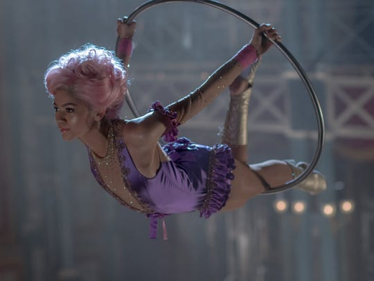 To play Anne in 'The Greatest Showman,' Zendaya did nearly three months of trapeze training prior to shooting.