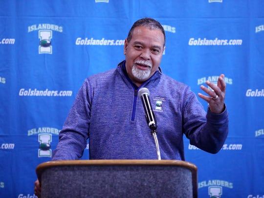 Willis Wilson, men's basketball coach at Texas A&M