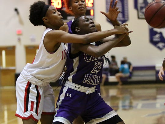 Action from the Class 6A-District 12 championship game between Immokalee and Cypress Lake in Fort Myers on Thursday, Feb. 8, 2018.