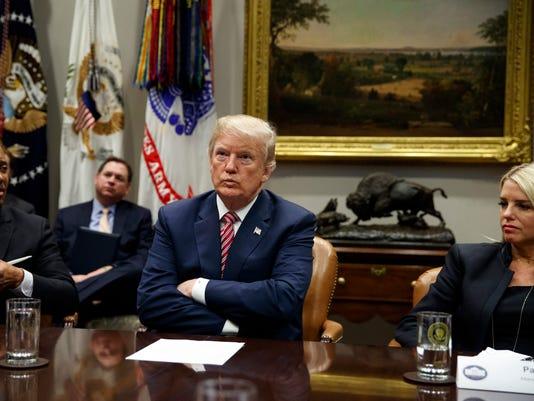 Donald Trump, Curtis Hill, Pam Bondi