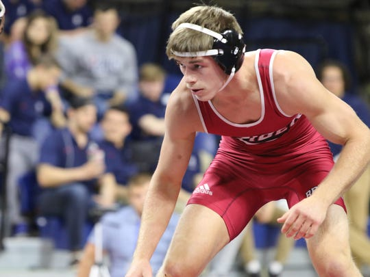 Cherry Hill native and former Camden Catholic star Chad Walsh is a two-time NCAA All-American at Rider University. He hopes to take home a national championship this weekend in Cleveland as the No. 4 seed in the 165-pound bracket.