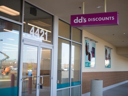 dd's Discount will open soon in the Merchant Square Shopping Center in Fox Point.