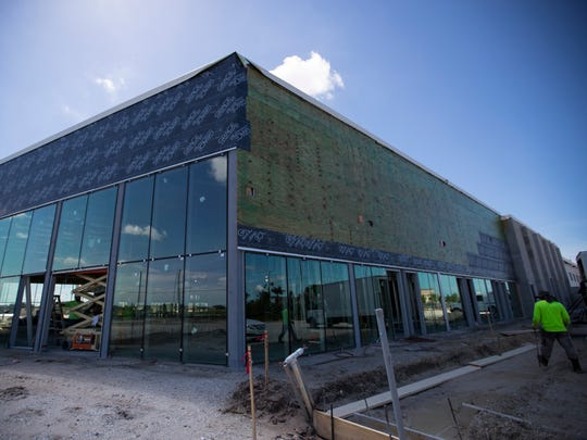 The new Cape Coral Chrysler Dodge Jeep Ram dealership is currently under construction on Pine Island Road.