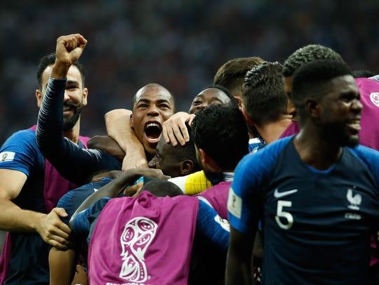 Francia campeon.