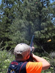 Funds raised at ENMU's clay pigeon shoot will go to