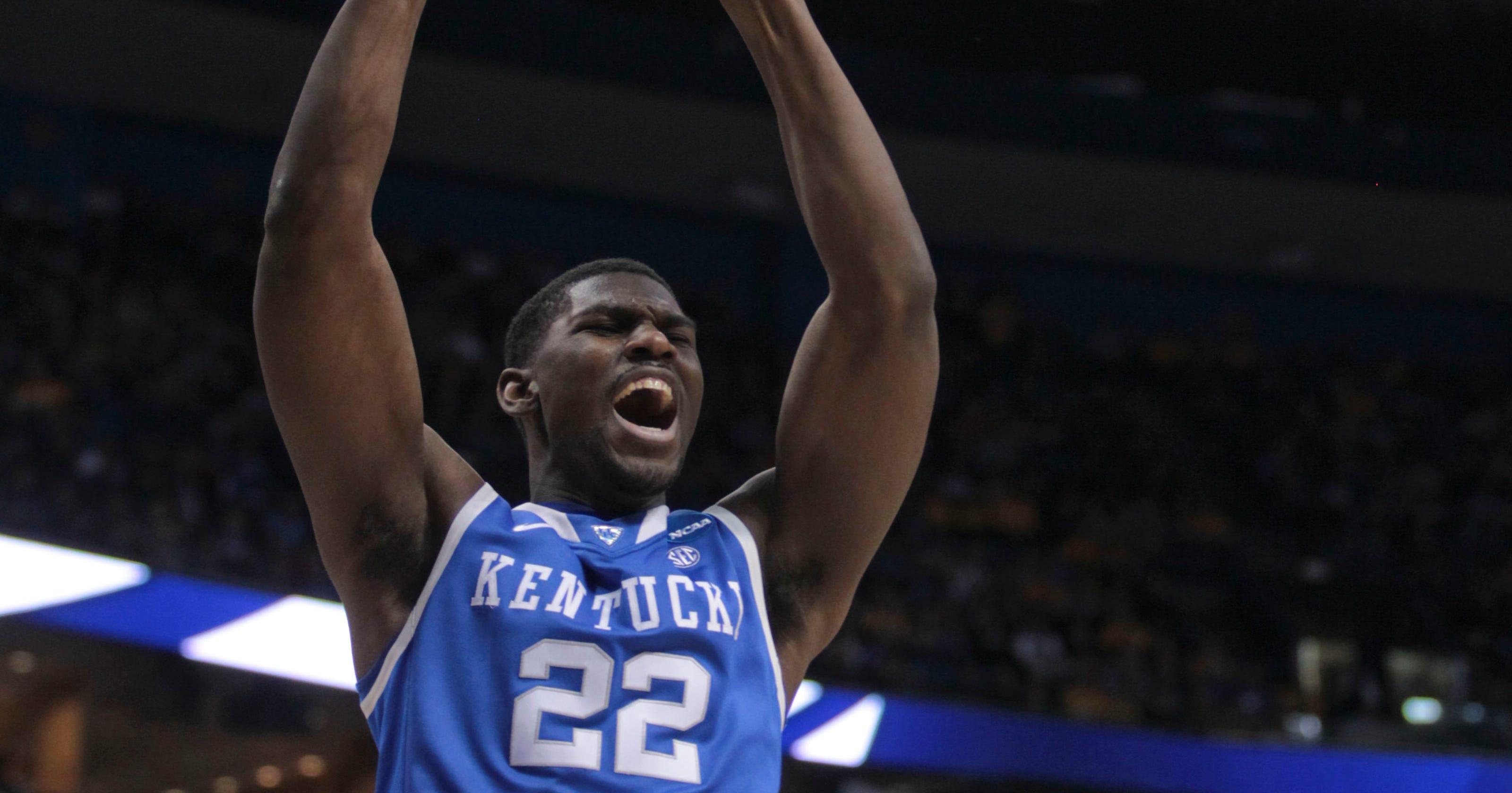 size 40 09b0b b93a7 Alex Poythress returning to Kentucky basketball team