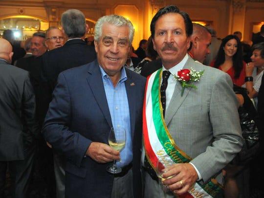 Armando Fontoura, left, is the Essex County sheriff.