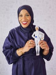 U.S. Olympic fencer Ibtihaj Muhammad was the inspiration