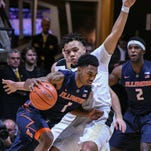 Purdue efficiently eases past Illinois