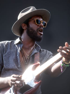 Gary Clark Jr. performs on the Coachella Stage during the  2016 Coachella Valley Music and Arts Festival on Weekend 1 in Indio, California.