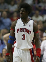 Detroit Pistons center Ben Wallace in 2005.