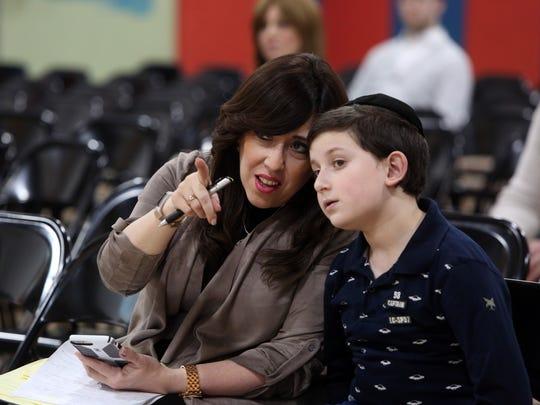 Rivkie Feiner of Monsey and her son, Yonah Feiner,