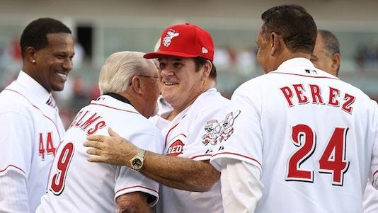 Pete Rose will be all over ESPN regarding his lifetime ban from baseball.