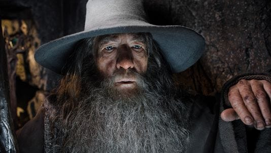 """""""The Hobbit: The Desolation of Smaug,"""" starring Ian McKellen, was a holiday winner."""