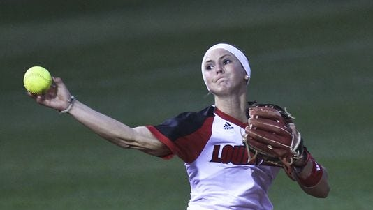 Louisville's Whitney Arion made a smooth transition from shortstop to third base this season.
