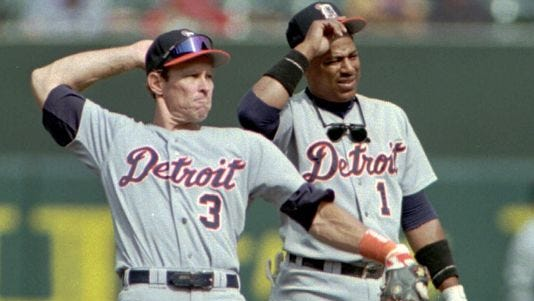 Alan Trammell and Lou Whitaker played together for 19 seasons with the Detroit Tigers, but they first met in 1977 while with the Montgomery Rebels.