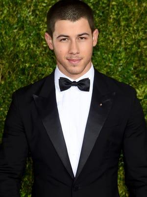 Nick Jonas attends the 2015 Tony Awards  at Radio City Music Hall on June 7, 2015 in New York City.