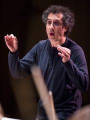 José-Luis Novo, music director of the Binghamton Philharmonic