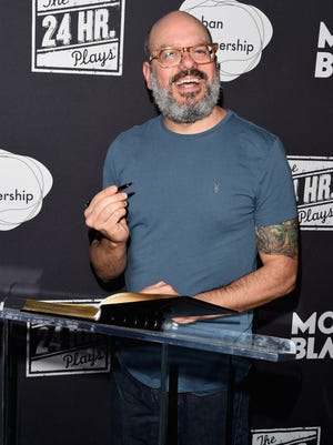 David Cross attends the 14th Annual 24 Hour Plays on Broadway to benefit the Urban Arts Partnership after-party at B.B. King Blues Club & Grill on Nov. 17, 2014 in New York City.