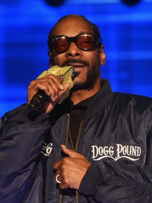 Snoop Dogg performs in New York on May 3, 2016.