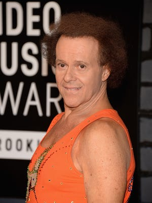 Richard Simmons attends the 2013 MTV Video Music Awards at the Barclays Center.