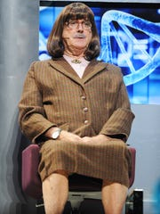"""John Cleese performs on the closing night of """"Monty"""