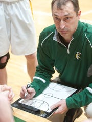 Floyd Central head basketball coach Todd Sturgeon talks