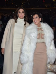 Caitlyn Jenner and Kris Jenner attend Kanye West Yeezy