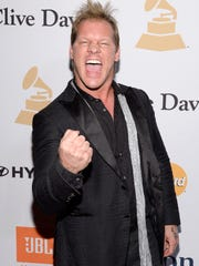 Recording artist and professional wrestler Chris Jericho attends the 2016 Pre-GRAMMY Gala and Salute to Industry Icons honoring Irving Azoff at The Beverly Hilton Hotel on Feb. 14, 2016 in Beverly Hills, California.