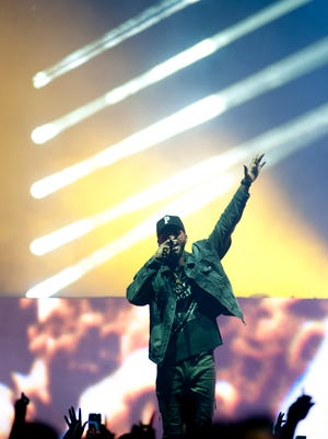 Bryson Tiller ended his current U.S. tour in his hometown of Louisville at the KFC Yum Center.