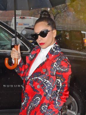 Lady Gaga sighting on Nov. 26, 2014 in New York City.