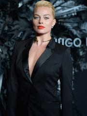 Margot Robbie lands at No. 3 on the Top 10 list, and