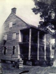 Café Vermilionville building in 1835.