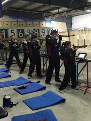 Members of Delsea Regional High School's Army JROTC